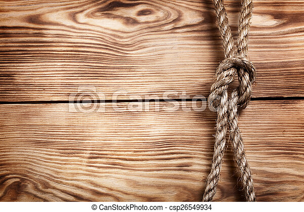 old rope - csp26549934