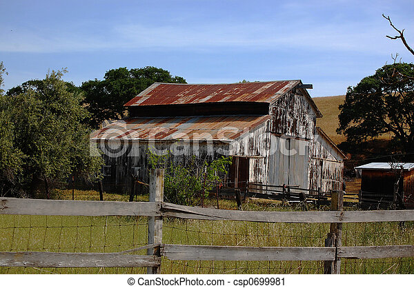 Old Rusted Barn Old Abandoned Rusted Out Barn In The Livermore Valley Area California Canstock