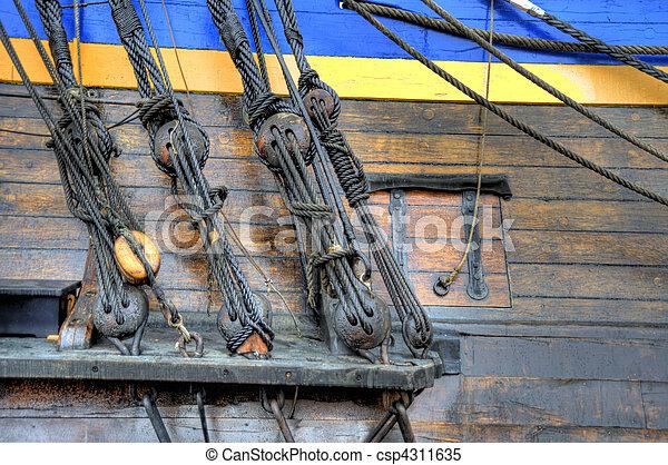 Old Sailing Ship - csp4311635