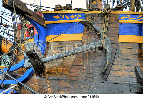 Old Sailing Ship - csp4311540