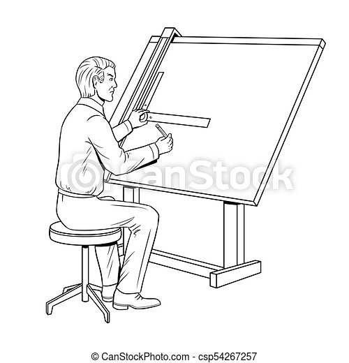 Old school engineer coloring book vector old fashioned engineer old school engineer coloring book vector malvernweather Choice Image