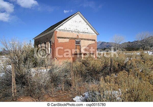 Old Schoolhouse - csp0015780