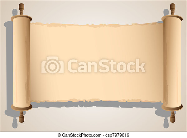 Old Scroll BannerVector Eps10
