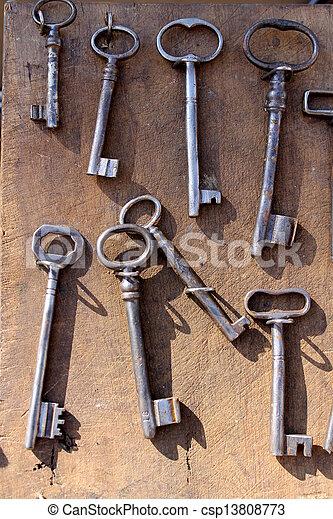 old set of keys - csp13808773