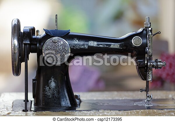 Old Sewing Machine Old Traditional Metallic Sewing Machine With Beauteous Sewing Machine Thailand