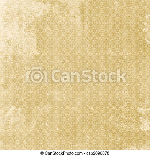 Old shabby vintage patterned aged paper  - csp2090878