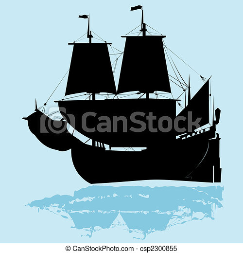 Old ship - csp2300855