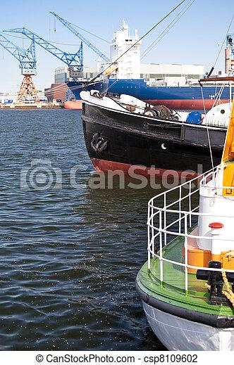Old ship - csp8109602