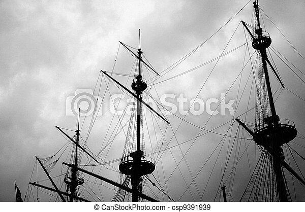 old ship - csp9391939