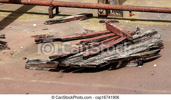 Old ship - csp16741906