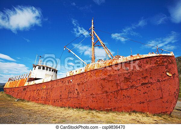 Old ship - csp9836470