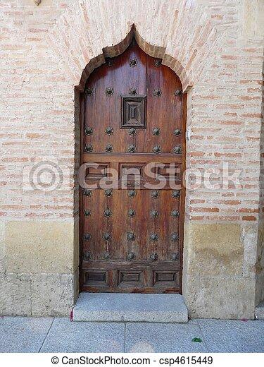 Old Spanish Door   Csp4615449