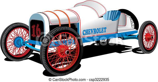 Old Sport Car - csp3222935