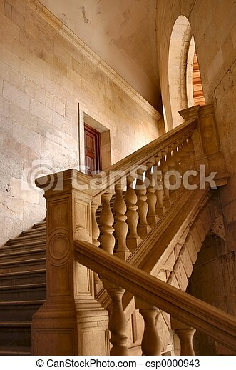 Old stair - csp0000943
