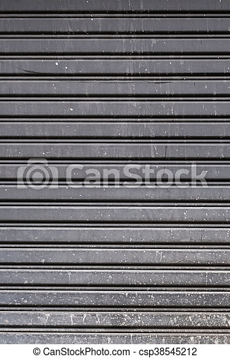 Old steel garage door texture Old steel garage door stock