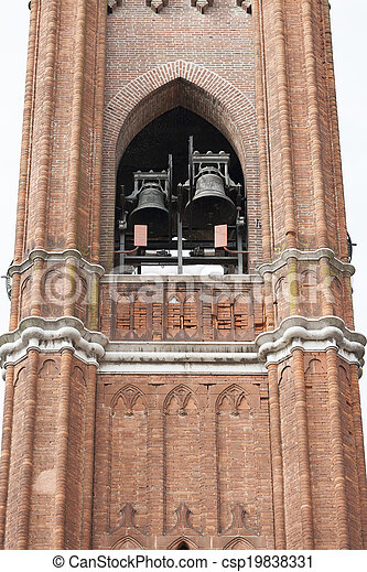 old steeple of the church - csp19838331
