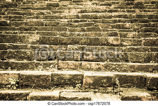 Old Stone Stair   Csp17672078