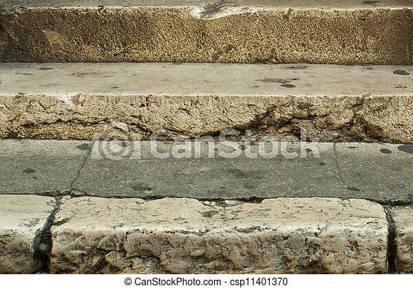 Old stone stairs - csp11401370