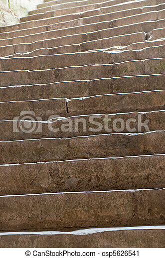 old stone stairs - csp5626541