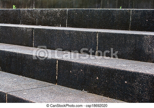 Old stone stairs - csp18692020