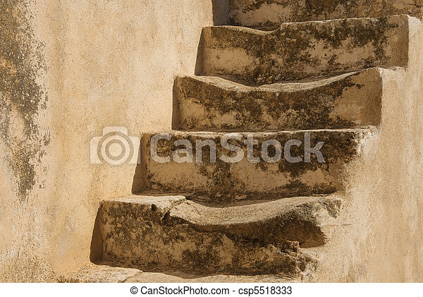 Old stone stairs - csp5518333
