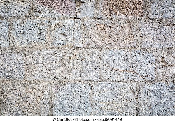 Old stone wall as background - csp39091449