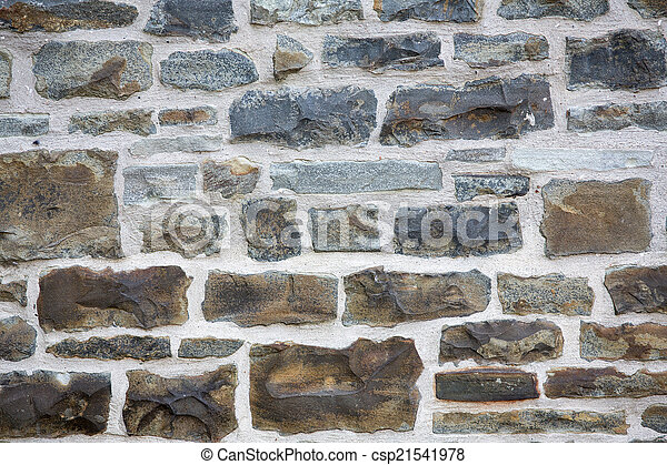 Old stone wall background - csp21541978
