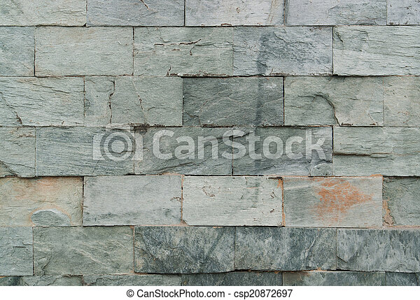 old stone wall detail - csp20872697