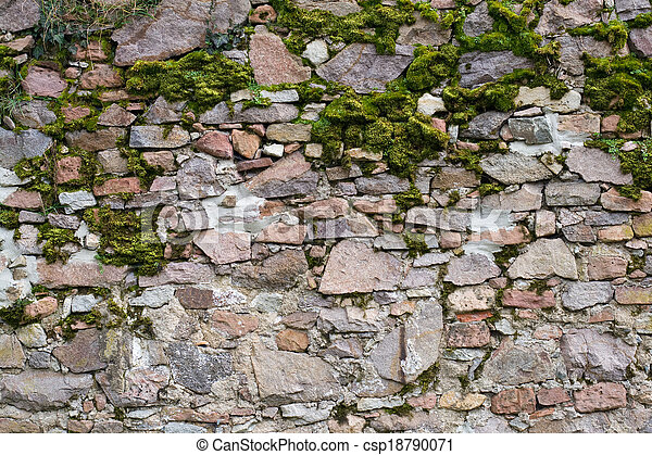 Old stone wall - csp18790071