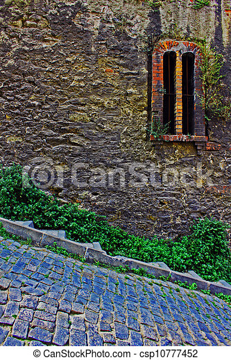 Old Stone Wall - csp10777452