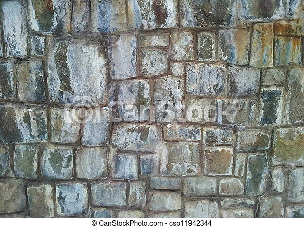 Old stone wall - csp11942344