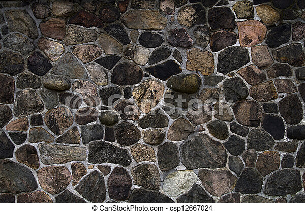 old stone wall - csp12667024