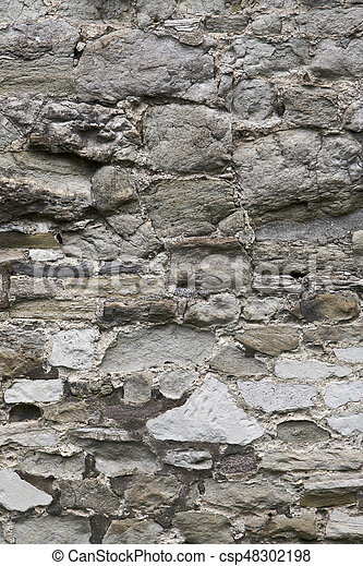 Old Stone Wall - csp48302198