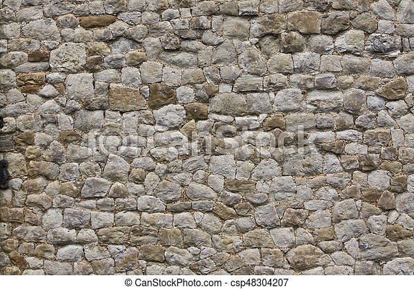 Old Stone Wall - csp48304207
