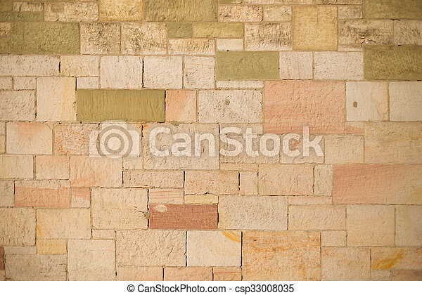 Old stone wall - csp33008035