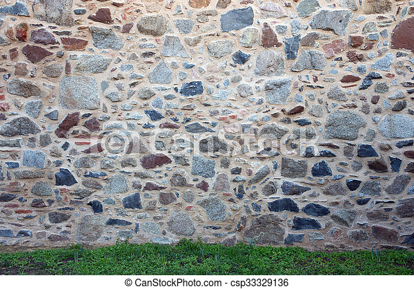 Old stone wall - csp33329136