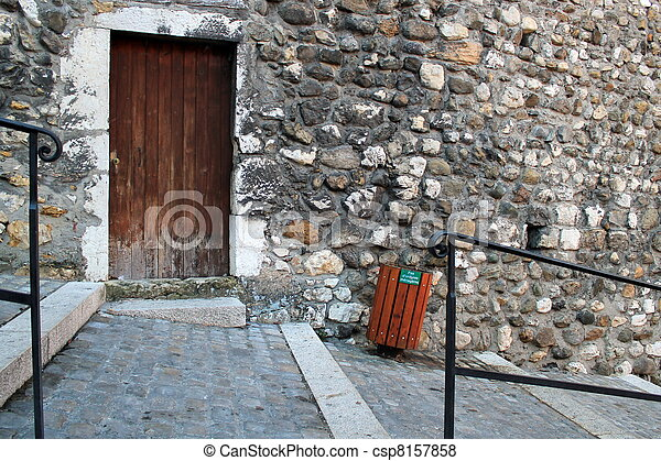 Old street, Annecy, Franc e - csp8157858