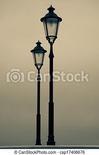 old street-lamp - csp17406676