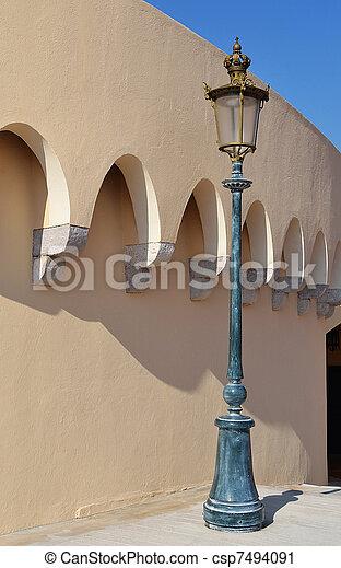 Old street lamp - csp7494091