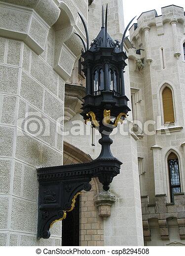 Old street lamp - csp8294508