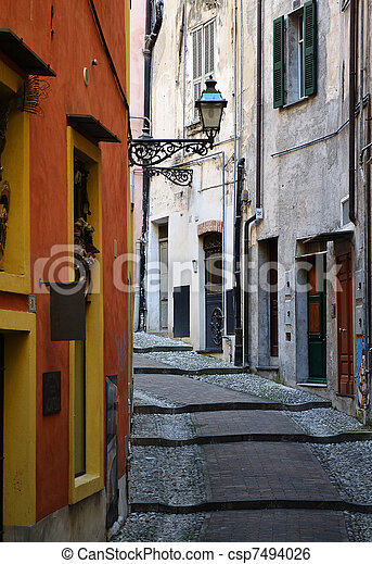Old street lamp - csp7494026