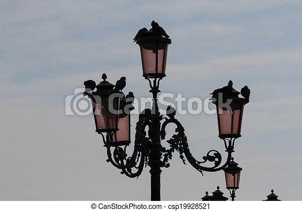 old street lamp - csp19928521