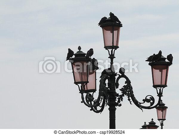 old street lamp - csp19928524