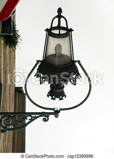 Old street lamp - csp12395996