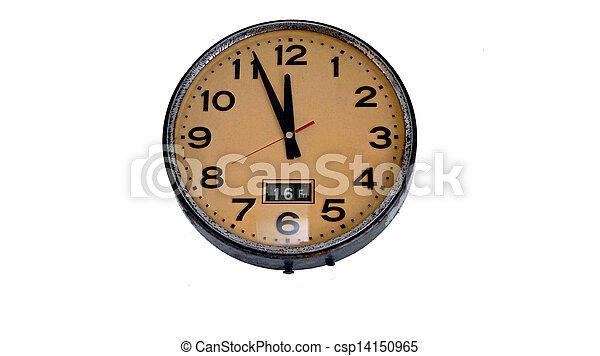 old style clock - csp14150965