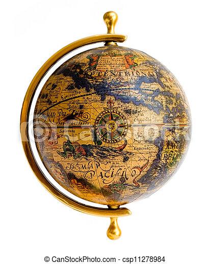 Old style globe - csp11278984