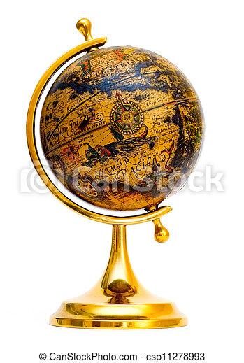 Old style globe - csp11278993