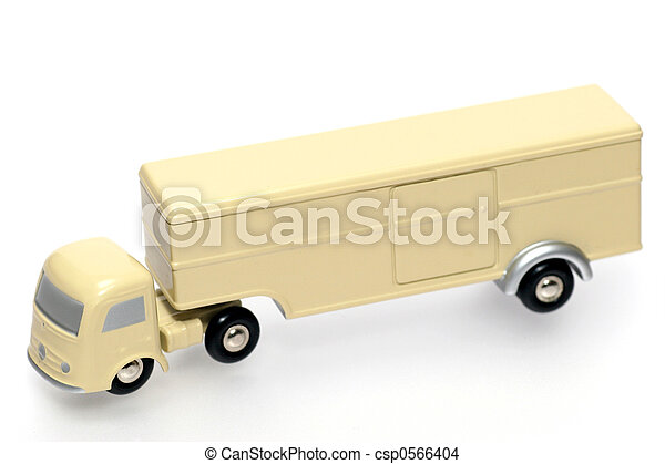 old style toy truck - csp0566404