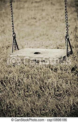 Old Swing - csp10896186