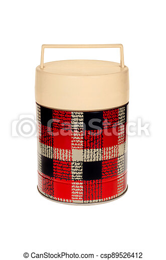 Old thermos - csp89526412